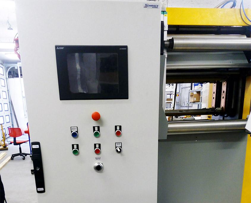 Automatyzacja maszyny przewijającej worki foliowe