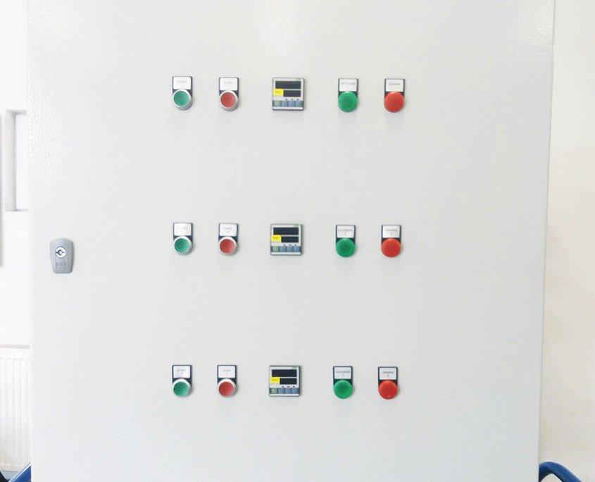 Prefabrykacja szafy do sterowania wentylacją